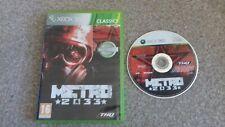 Xbox 360 Game metro 2033