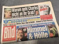 Bildzeitung vom 31.05.1999 * 18. 19. 20. Geburtstag Geschenk * Charles  Lady DI