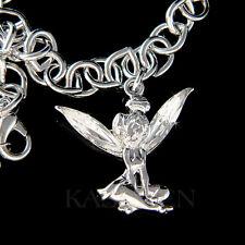 w Swarovski Crystal Tinkerbell Tinker Bell Angel fairy Bracelet Jewelry Xmas New