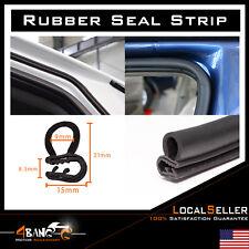 Rubber Seal Door Protector Weather Stripping Black Edge Trim Lok RV Camper 144