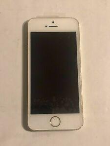 Apple IPHONE 5s - 16GB - Silber (Entsperrt) Bildschirm Und Batterie Neu
