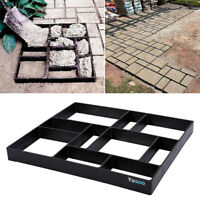 DIY Paving Pavement Concrete Stepping Driveway Stone Path Mold Patio Maker Mould