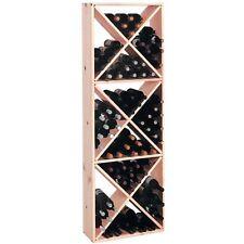 Wine Cellar Innovations Rustic Pine Solid Diamond Cube Wine Rack for 132 Wine