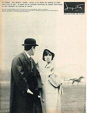 PUBLICITE ADVERTISING 044  1963   JUPITER   collection vetements de pluie