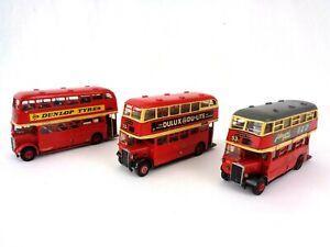 Anbrico white Metal Bus Kit Bundle Crossley & Weymann Daimler AEC Built Painted