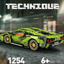 1254 Pcs  Lamborghini Car Technic Model Building Blocks Gifts For Children