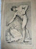 Interessante Gravierkunst De Francois Boucher Von Jhd