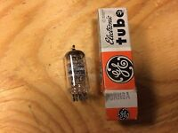 NOS NIB GE 6AN8A Tube 1960s Tested Super Strong Made in Japan