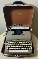 VINTAGE Late 1950's Smith Corona 5TE Electric Typewriter with Case RARE* WORKS