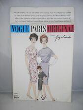 Guy Laroche VOGUE PARIS ORIGINAL PATTERN 1000 One Piece Dress Size 10 w Label