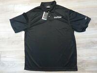 Evan Williams Single Barrell Vintage Bourbon Nike Polo Golf Shirt LG L mens NEW