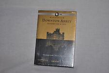 DOWNTON ABBEY Seasons One & Two (1 & 2) Original UK Ed 6 DVD -SEALED - FREE Ship