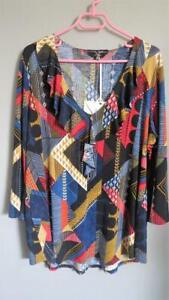 MOTTO - beautiful JERSEY AMILIA  tunic - size 18 - new with tags