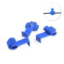 50 Pcs Scotch Lock Wire Electrical Cable Quick Splice Terminal Crimp Connector