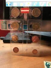 Série 1 cent à 2 euro Autriche 2002 (8 pièces)