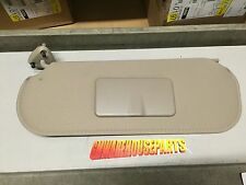 2003-2015 EXPRESS VAN SAVANNA DRIVERS SIDE SUNVISOR TAN W/O LIGHT NEW # 20883005