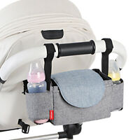Baby Pushchair Organiser Storage Buggy Pram Stroller Mummy Bag Bottle Holder