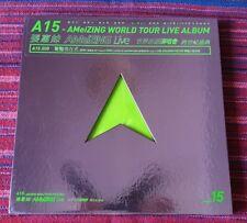 A-Mei ( 張惠妹 ) ~ A15 - 張惠妹 AMeiZING Live 世界巡迴演唱會 跨世紀盛典 (3DVD) (平裝版)