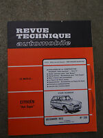 REVUE TECHNIQUE AUTOMOBILE RTA 1973 Citroen Ami 504 injection - 504 GTi
