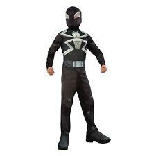 Ultimate Spider-Man Agent Venom Costume Marvel LARGE 12-14 NEW Rubies 610872