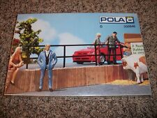 POLA G SCALE TRAIN ACCESSORY / 330946 IRON RAILING / NEW IN BOX