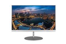 "Lenovo 65D2GCC3WW L24q 23.8"" QHD Display 16:9 Widescreen Monitor Silver"