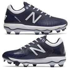 New Balance 4040v5 Navy Youth Baseball Cleat Navy/White Molded Rubber J4040TN5