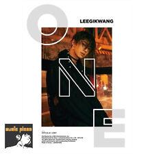 LEE GIKWANG 1ST MINI ALBUM [ ONE ] CD+BOOKLET+PHOTO CARD HIGHLIGHT