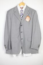 Mens CANALI Suit SINGLE BREASTED Pure New Wool 42 Chest Trousers W32 L29  DN1RL