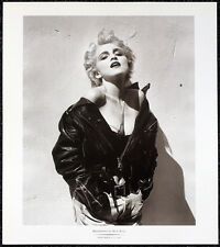 MADONNA POSTER PAGE . LIKE A VIRGIN PAPA DONT PREACH MATERIAL GIRL . T63