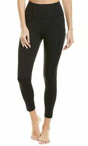 Free People No Limits ultra-compressive high-rise leggings Black Size XS RRP £88