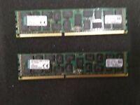 32Gb Server Kit 2x16Gb 2Rx4 PC3-12800R Original Kingston