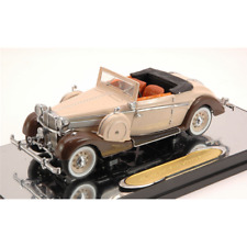 MAYBACH SW38 SPORT CABRIO 1937 BEIGE/BROWN 1:43 Signature Auto d'Epoca Die Cast