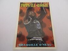 Carte NBA TOPPS 1993-94 #152 Shaquille O'Neal Orlando Magic