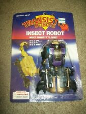 """VINTAGE  1987 """" FOUR  STAR """"  TRANSFORMER  """" INSECT  ROBOT """"  MOSC  BRAND  NEW"""