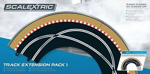 Brand New Boxed C8510 Scalextric Sport Track Extension Pack 1 Analogue/Digital.