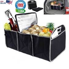Trunk Organizer Storage Bin Bag Collapsible Fold Grocery Caddy Car Truck Auto