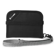 Pacsafe V50 Nylon Oxford Polyurethane Black Wallet 10551100
