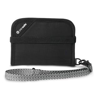 "Pacsafe - RFIDsafe��""¢ V50 RFID Blocking Compact Wallet - Black"