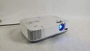 Nec NPM300W Projector 459 lamp USB HDMI 720p 1080i 1080p 60fps 3000 lumens