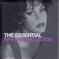 """WHITNEY HOUSTON """"THE ESSENTIAL WHITNEY HOUSTON""""2 CD NEW+"""