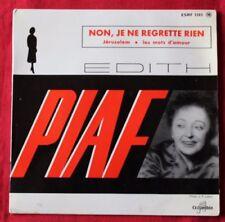 Disques vinyles Édith Piaf EP sans compilation