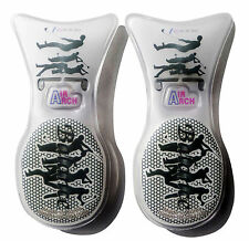 Air Arch Sports Black Shoe Insoles Inserts Unisex Men Women Orthotic Support