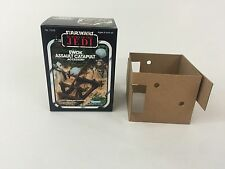 brand new star wars the return of the jedi ewok catapult box +inserts