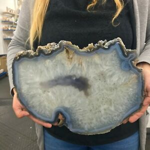 INCREDIBLE ** AGATE THICK SLICE * 4 Kgs / 8.8 Lbs ** Free Shipping **