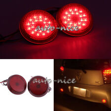 For Scion xB iQ Toyota Sienna Corolla 21LED Red Rear Bumper Reflector Light Lamp
