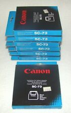 Lot of 7 Canon SC-73 Multistrike Film Ribbon Cassettes Black NOS