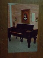 Vintage Postcard Jane Long's Piano, Fort Bend County Museum, Richmond, Texas