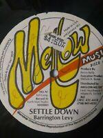 "Barrington Levy-Settle Down 12"" Vinyl Single"
