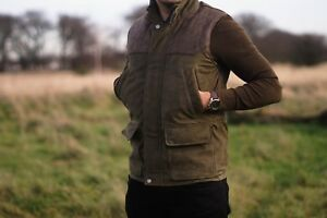 Milano Countryman Shooting, Hunting, REAL Nubuck Leather Sheep Nappa Gilet
